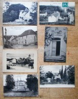 7 Cartes Postales BUCEY-LES-GY : Châteaux Jouart, Guilloz / Village / Pont / écoles / Triptyque / Vue - Other Municipalities