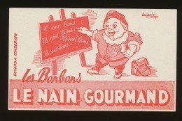 Buvard - LE NAIN GOURMAND - Buvards, Protège-cahiers Illustrés
