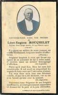 FAIRE PART ACTE DE DECES  Léon Eugene MOUCHELET - Décès