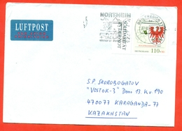 Brandenburg. Germany 1997. Envelopes Past The Mail. Airmail. With Special Cancel. - Stamps