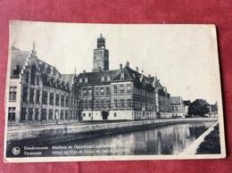 België Belgique Belgien Belgium  Dendermonde. Stadhuis En Gerechtshof - Dendermonde