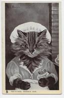 Cat - Pat-a-Cake, Baker's Man - G.L. Barnes - Tuck Glosso 5629 - Cats