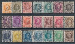 Belgique N°190 à 210 Albert 1er - Belgique