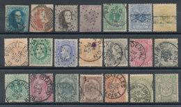 Belgique Lot De 21 Timbres Anciens - Bélgica