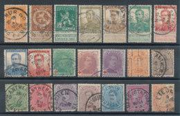Belgique Lot De 21 Timbres Anciens - Verzamelingen