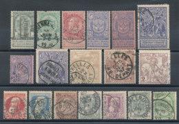 Belgique Lot De 18 Timbres Anciens - Bélgica