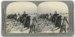 Photo Stéréoscopique - Soldats Français, Guerre, War - Photos Stéréoscopiques
