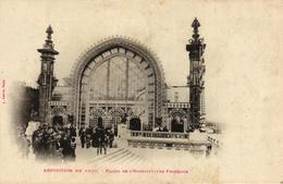 PARIS -75- EXPOSITION DE 19000 PALAIS DE L'HORTICULTURE FRANCAISE - Mostre
