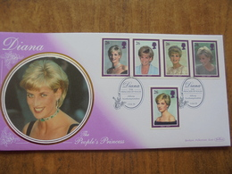S069: DIANA - The People's Princess 5 X 26p Stamps. 3 Feb 98. FIRST DAY COVER. - FDC