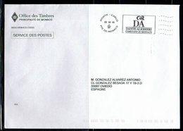 POSTAGE MONACO L'AFFRANCHISSEMENT OFFICIEL  DANTE ALIGHIERI COMITATO DI MONACO - Escritores