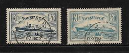 France Timbres De 1935/36  N°299/300 Oblitérés Cote 22€30 - Oblitérés