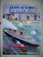 Affiche PAQUEBOT NORMANDIE Par BORTOLUZZI Vente Aux Enchères CHERBOURG 2002 Cité De La Mer - Bateaux