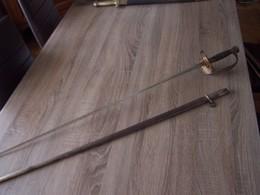 Superbe épée D'administrateur Des Colonies Mle 1837 à 1896 - Armes Blanches