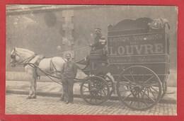 CPA: Paris 1° - Carte-photo - Livraison Des Marchandises - Grands Magasins Du Louvre - Arrondissement: 01