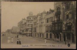 France - CPA Malo-Les-Bains - La Digue Animée - Le 3 Janvier 1919 - Beaux Cachets Militaires Dont Army Post Office - Malo Les Bains