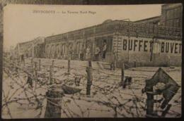 France - CPA Zuydcoote (Nord) - La Taverne Nord Plage - Guerre 14-18 Barbelés - Carte Animée Circulée En 1917 - France