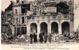 80 - PERONNE - L'HOTEL DE VILLE DETRUIT  ///919 - War 1914-18