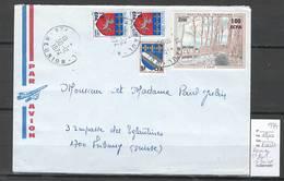Reunion - Lettre De Saint Paul Pour Fribourg En Suisse - 1974 - Reunion Island (1852-1975)