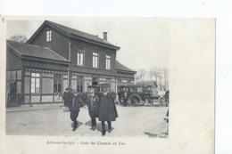 Cpa -62 -    Aire-sur-la-lys La Gare  1900 - Arras