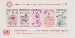 REPUBLIQUE DOMINICAINE BLOCS FEUILLETS JEUX OLYMPIQUES DE MELBOURNE 1956 - Sommer 1956: Melbourne