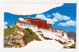 06/2012    -  China  -  Offizielle Postkarte (AK/CP/PC) Lhasa - Potala   - O Rot Gestempelt -  Siehe Scan  (AK Lhasa P.) - China