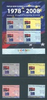 PAPUA NEW GUINEA -  MNH/*** LUXE - 2008 - 30 YEARS PARTNERSHIP EU - Yv 1215-1218 BLOC 46 -  Lot 18255 - Papouasie-Nouvelle-Guinée