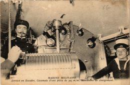 CPA Marine Militaire, Service En Escadre SHIPS (782470) - Guerre