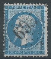 Lot N°45358  N°22, Oblit GC 695 La Caillère, Vendée (79), Ind 12 - 1862 Napoleone III