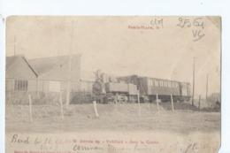 Cpa -62 -    -  Berck-plage  -   -  Arrivee Du Tortillard -  Rare 1904  Etat - Berck