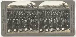Photo Stéréoscopique - Germany's Dreaded Foe In The East ( Armée Allemande ) - Photos Stéréoscopiques