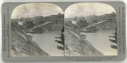 Photo Stéréoscopique - Canal De Panama, Construction - Photos Stéréoscopiques