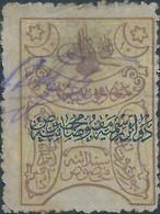 Turchia Turkey Ottomano Ottoman 1900/1921 , Revenue Stamps 10Pa,Overprinted,Rare Stamps - 1858-1921 Ottoman Empire