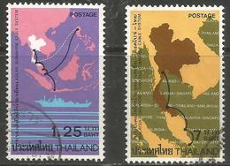 Thailand - 1983 Submarine Cable Used    Sc 1038-9 - Thailand