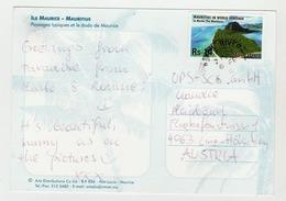 06.02.2012 - Mauritius -  Offiz.Postkarte (AK/CP/PC)    -  O  Gestempelt  -  Siehe Scan  (PC Mauritius 01) - Mauritius