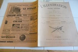 L'ILLUSTRATION 20 AVRIL 1901-FETES TOULON/ GARE LYON/ MAROC/ TUNISIE/ CERIGO/ EMILE FAGUET-CHEVAUX CHIRURGIE VETERINAIRE - Giornali