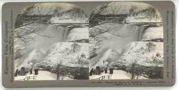 Photo Stéréoscopique - Chutes Du Niagara, Usa - Photos Stéréoscopiques