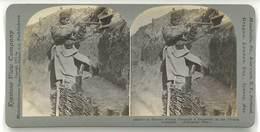 Photo Stéréoscopique - Guerre 14/18, Tranchées En France, Soldat, Hussard - Photos Stéréoscopiques
