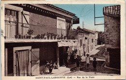 46 - SAINT PAUL LABOUFFIE --  Rue De La Poste - Francia