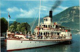 CPA Le Lac D'Annecy, Retour Au Port SHIPS (783378) - Bateaux