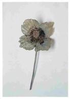 Art - Divers - Lalique Jules - Pavot - Or. Argent, Brillants Et émail - Paris Musée D'Orsay - Carte Neuve - Voir Scans R - Arts