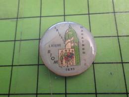 413A Pin's Pins : Rare Et Belle Qualité : THEME SPORTS / ATHLETISME MARATHON 1992 AMICALE LAIQUE RIOM - Athletics