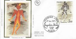 Env Fdc France N° 2068 Paris, 1/12/79, Oeuvre De Chapelain-midy, Danseurs De Feu - FDC