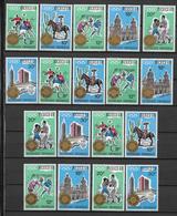 RWANDA - 1968 - JEUX OLYMPIQUES DE MEXICO - YVERT N°  277/294 * MLH - COTE = 60 EUR. - Rwanda