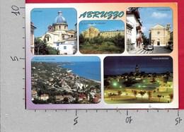 CARTOLINA VG ITALIA - ABRUZZO - Vedutine Multivue - 10 X 15 - ANN. 1997 VIAREGGIO - Italy