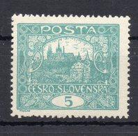 CZECHOSLOVAKIA  1918 , MNH - Neufs