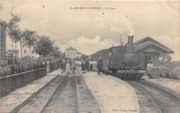 42 - LOIRE / 421800 - Saint André D' Apchon - La Gare - Beau Plan Train - Autres Communes