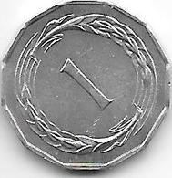 *cyprus 1 Mil 1963  Km 38 Unc - Chypre