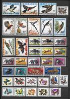 RWANDA - ANIMAUX - SERIES COMPLETES YVERT N°56/66+98/107+112/117+138/143+191/198+233/242 * MLH - COTE = 84 EUR. - Rwanda