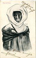 Maroc - Moro De M'talza. CPA écrite 1917 - Andere