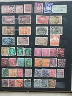 Album DEUTSCHES REICH, 1900-1945, Sammlung, Germany, Inflation, 3.Reich,Luftpost - Ohne Zuordnung